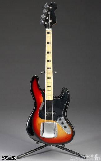 Kurt Cobain Sears Bass Model 20180 Auction Nirvana