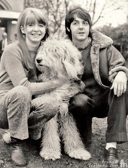 Paul McCartney Jane Asher Martha My Dear English Sheepdog White Album