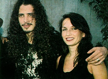 Chris Cornell and Susan Silver