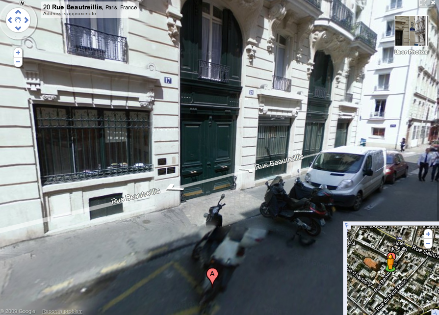 17_Rue_Beautreillis_jim_morrison_apartment_death_google_street