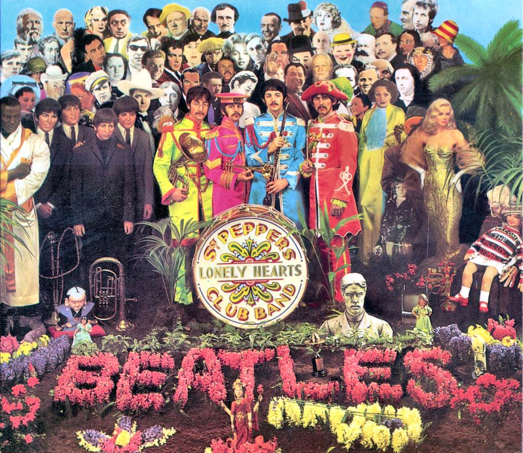 Sgt. Peppers Lonely Hearts Club Band The Beatles Album Cover Hitler