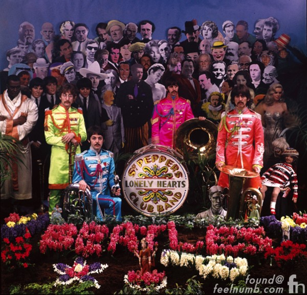 The Beatles Sgt Pepper Photo Shoot March 30, 1967