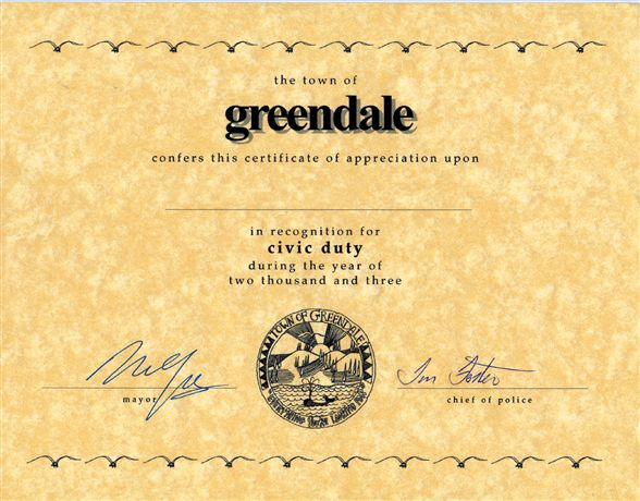 Neil Young Lionel Train 6-30002 Greendale Certificate