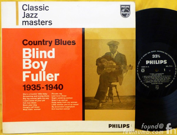 Blind Boy Fuller Country Blues Pink Floyd Band Name Anderson Council