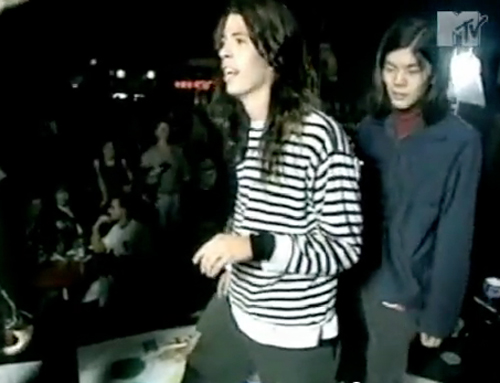 Dave Grohl James Iha Nirvana Smashing Pumpkins Twister 1991