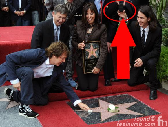 George Harrison Hollywood Walk of Fame Star Paul McCartney Tom Hanks