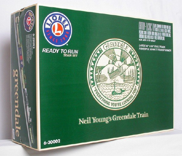 Neil Young Greendale Lionel Train Set 6-30002