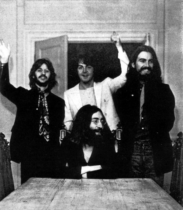 The Beatles Last Photo Together August 22 1969 Lennon McCartney Starr Harrison