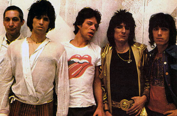 The Rolling Stones Bill Wyman Album Photo