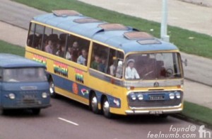 The Beatles Magical Mystery Tour Bus Bedford VAL Panorama