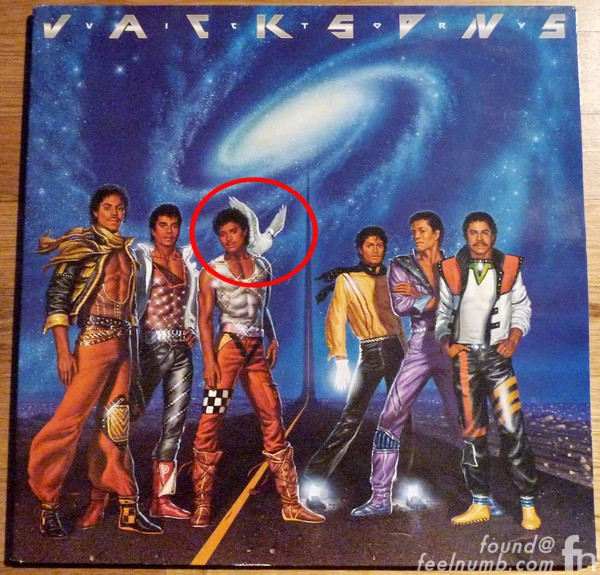The Jacksons Victory White Dove Album Cover First Pressing