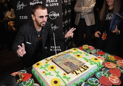 Ringo Starr 70th Birthday Pau Mccartney