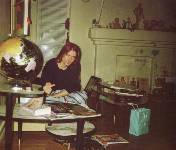 Kurt Cobain Nirvana Los Angeles Apartment 1992