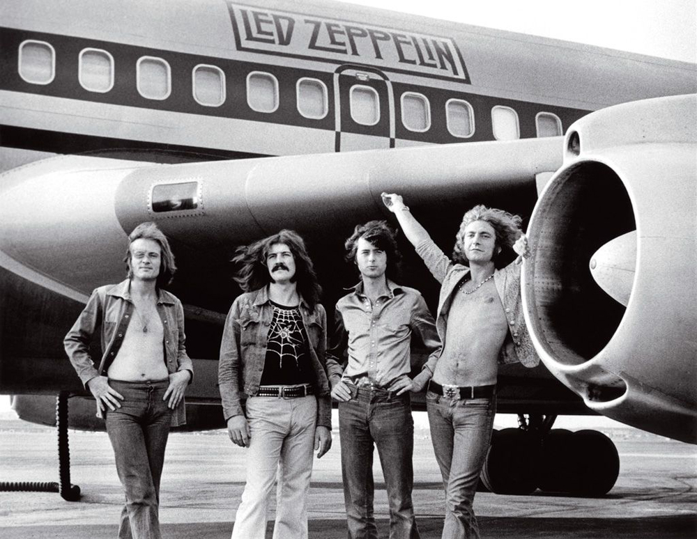 Led Zeppelin Starship Airplane Bob Gruen