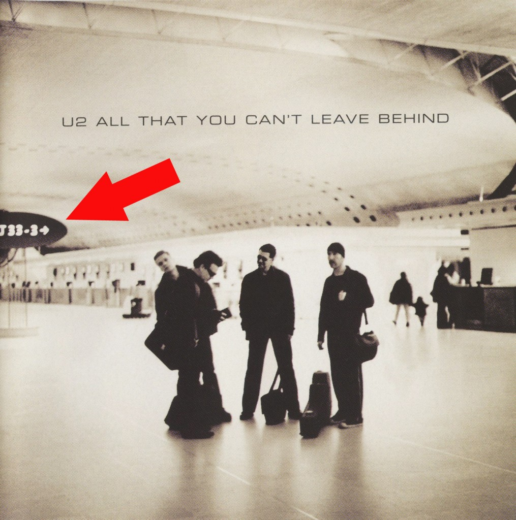 U2 All That You Can't Leave Behind Bible Reference