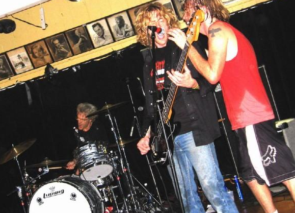 Taylor Hawkins Foo Fighters Chevy Metal Drums Stewart Copeland The Police Malibu Inn