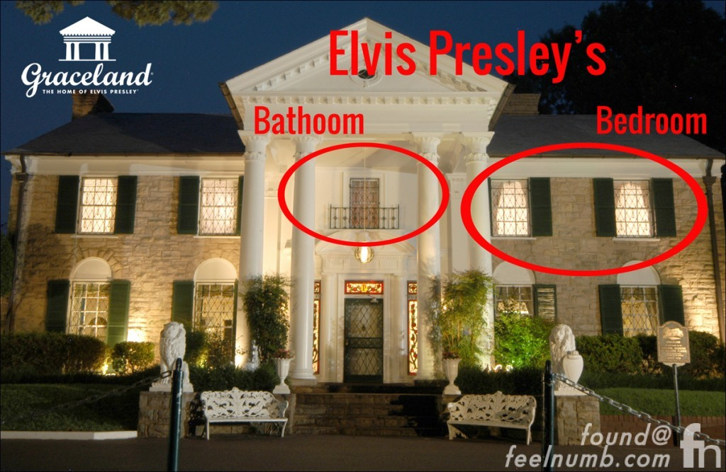 Elvis Presley Bathroom Upstairs Graceland