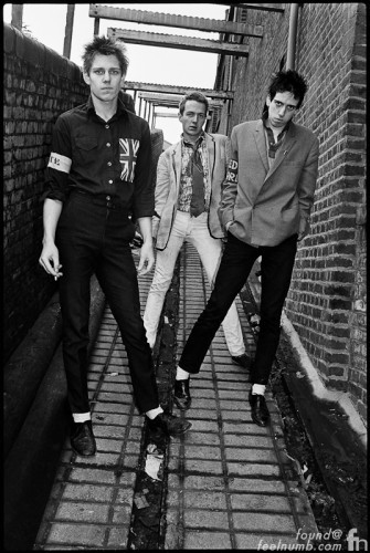 The Clash Debut Album Cover Location Camden Market
