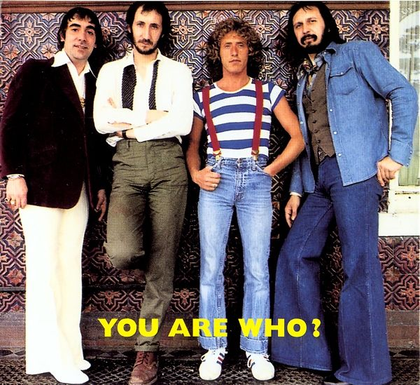 The Who Who Are You Album Cover Photo Session 1978