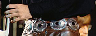 Jim Morrison Concho Belt Close Up The Doors