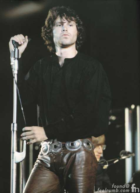 Jim Morrison The Doors Silver Indian Concho Belt