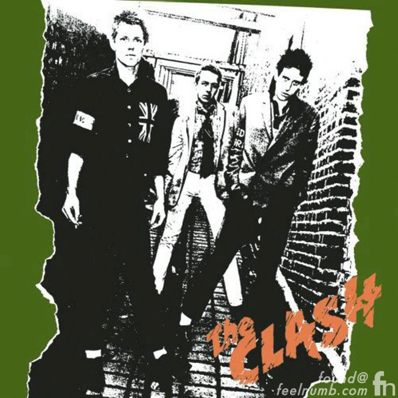 The Clash Debut Album Cover Location