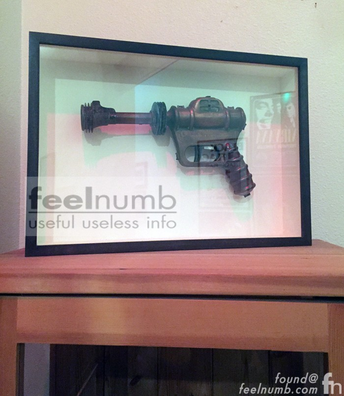 Foo Fighters Debut Album Cover Gun Studio 606 Buck Rodgers