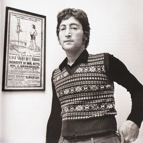 John Lennon The Beatles Being For The Benefit of Mr. Kite Poster Lyrics