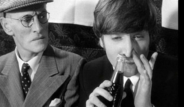 John Lennon Snorting Coke A Hard Days Night