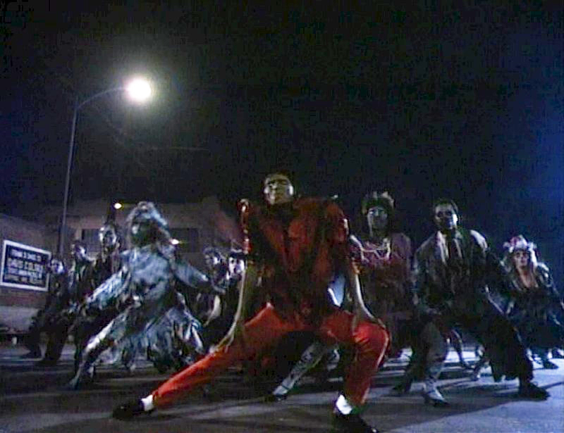 Michael Jackson Thriller Dance Scene Location In Downtown ... Michael Jackson Thriller Video Dance