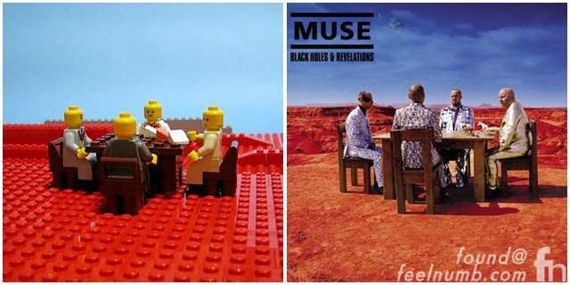 Lego Album Cover Remakes Part 2 – Pink Floyd, Nas, Muse