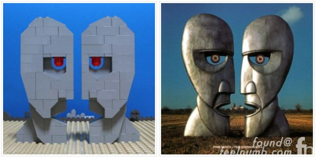 Lego Album Cover Remakes Part 2 Pink Floyd Nas Muse