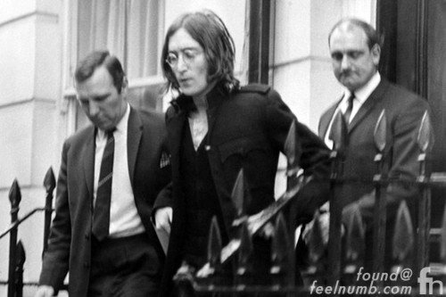 John Lennon Arrest October 18, 1968 34 Montagu Square London JImi Henrix RIngo Starr Flat Paul McCartney