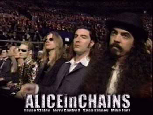Alice In Chains 1997 Grammy Awards Layne Staley Last Appearance