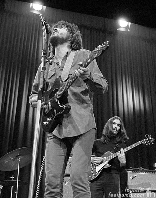 Delaney & Bonnie George Harrison Rosewood Fender Telecaster The Beatles Rooftop Concert