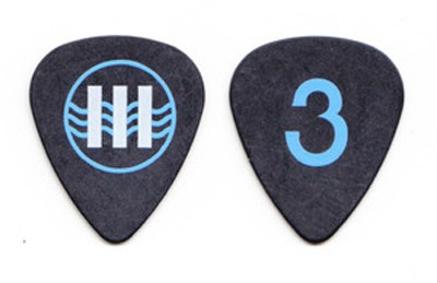 Jack White Guitar Pick Number 3 III