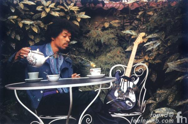 Jimi Hendrix Last Photos