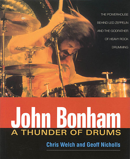 John Bonham Led Zeppelin A Thunder Of Drums Book Chris Welch Drum Auction