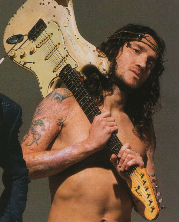 John Frusciante Arm Scars Red Hot Chili Peppers