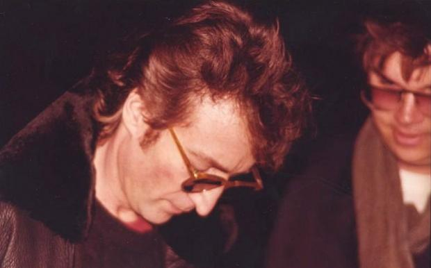 John Lennon Last Photo December 8, 1980 Mark David Chapman