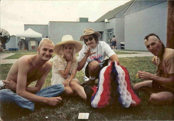 Layne Staley , Kat Bjelland, Les Claypool, Maynard James Keenan Lollapalooza 1993 Alice In Chains, Babes in Toyland, Primus & Tool