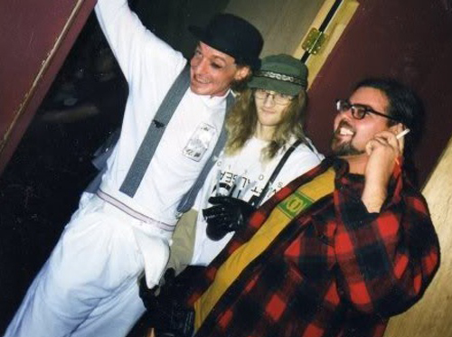 Layne Staley Last Photo 1998 Jerry Cantrell Solo Show Halloween