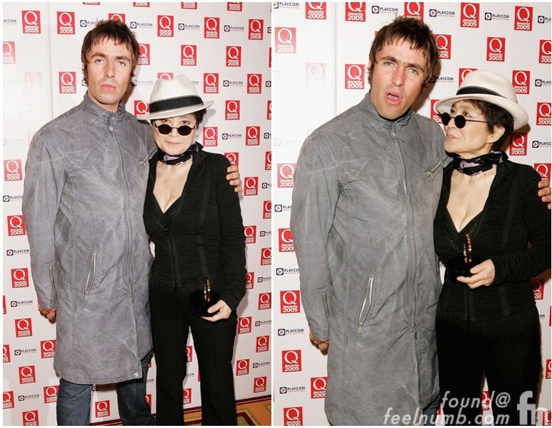 Liam Gallagher John Lennon Yoko Ono Meeting The Dakota Apartment New York 2009 Oasis The Beatles