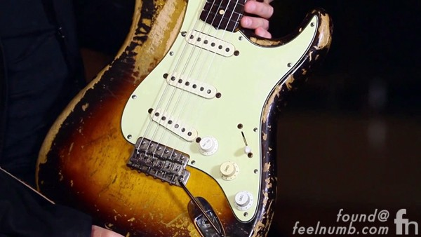 Mike McCready vs. John Frusciante Fender Strat