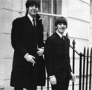 Ringo Starr Paul McCartney Montagu Square