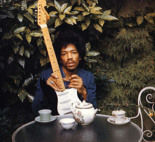 Jimmy Hendrix Last Photo