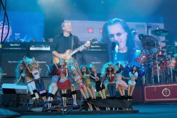 Alex Lifeson Peddle Board Barbue Dolls Rsuh