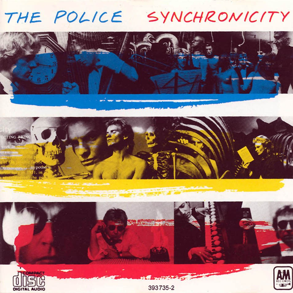 The Police Carl Jung Synchronicity Sting Book