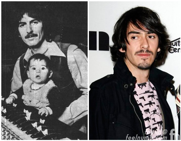 George Harrison Children Dhani The Beatles Kids