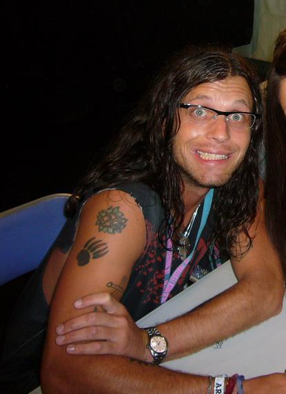 Nathan Followill Kings Of Leon Grizzy Bear Tattoo Caleb